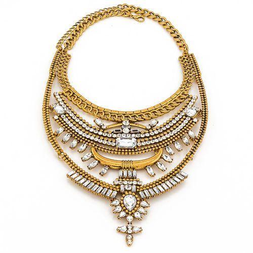 By milla Naszyjnik marvelous gold - gold