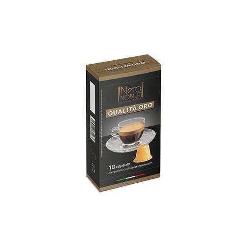 Nero nobile Kapsułki do nespresso* złota jakość/qualita oro 10 kapsułek - do 12% rabatu przy większych zakupach oraz darmowa dostawa