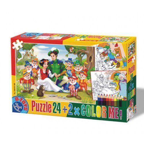 23-038008 Puzzle Królewna Śnieżka - PUZZLE DLA DZIECI