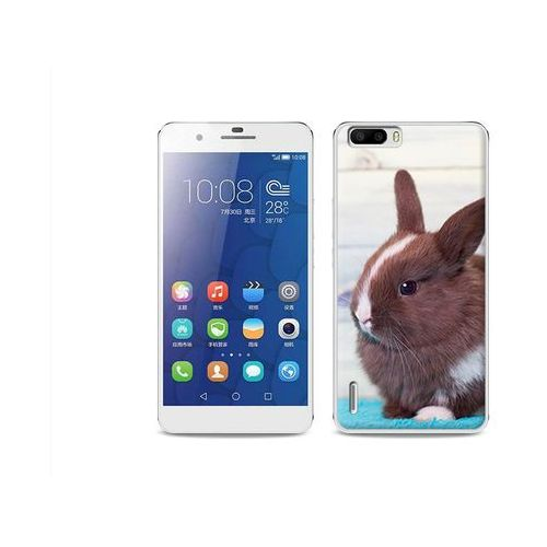 Foto Case - Huawei Honor 6 Plus - etui na telefon Foto Case - brązowy królik, kup u jednego z partnerów