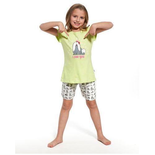 Piżama Cornette Kids Girl 787/57 I See You kr/r 86-92, zielony/seledynowy, Cornette, kolor zielony