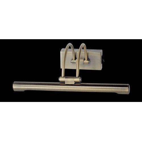 Kinkiet LAMPA ścienna HIGH 3090/35 ANT.B Italux obrazowa OPRAWA nad lustro LED 36W galeryjka brąz, 3090/35 ANT.B