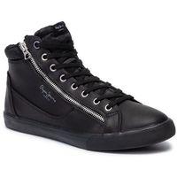 Sneakersy PEPE JEANS - Marton Zipper PMS30589 Black 999, w 7 rozmiarach