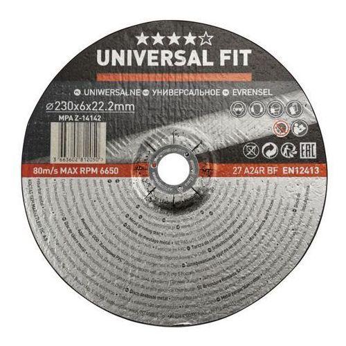 Tarcza do szlifowania metalu Universal 230 x 6 mm