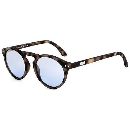 Okulary słoneczne cavour cv05b/matte havana caffe latte (silver mirror) marki Spektre