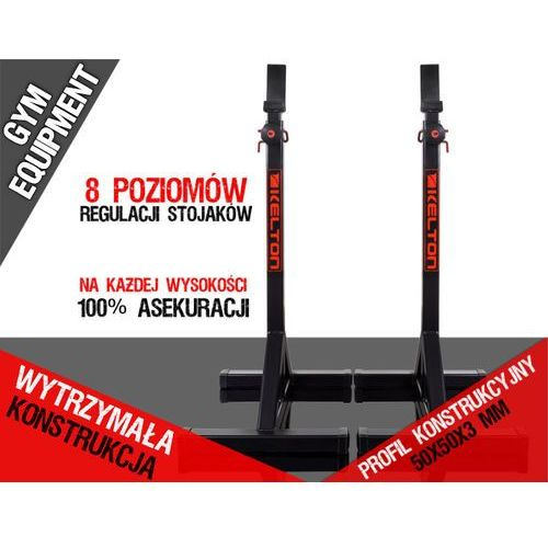 Stojaki na sztangę do wyciskania para ps1 gym equipment marki Kelton