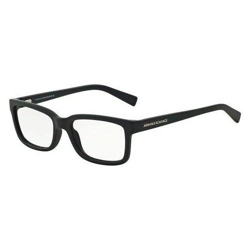 Armani exchange Okulary korekcyjne ax3022f asian fit 8157