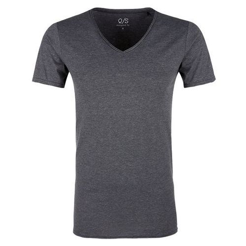 Q/S designed by T-shirt męski XL ciemnoszary, kolor szary