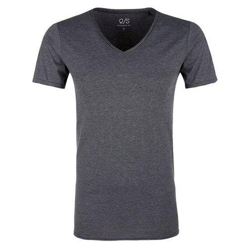 t-shirt męski xxl ciemnoszary marki Q/s designed by