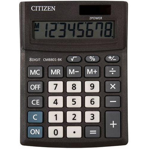 Kalkulator biurowy CITIZEN CMB801-BK Business Line, 8-cyfrowy, 137x102mm, czarny (4562195139201)