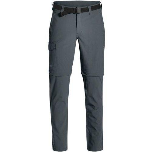 Maier Sports Torid Slim Spodnie długie Mężczyźni Long szary 52-długie 2018 Spodnie z odpinanymi nogawkami, kolor szary