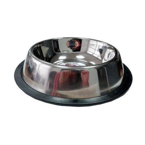 LOLO PETS Miska metalowa na gumowej podkładce 0,45l