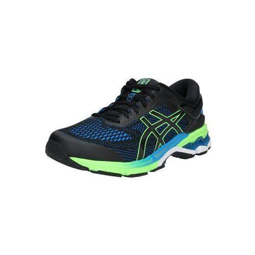Asics buty do biegania 'gel-kayano 26' ciemny niebieski / neonowa zieleń / czarny (4550215023296)
