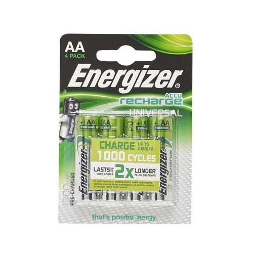Akumulatory universal aa 1300mah 4szt. marki Energizer
