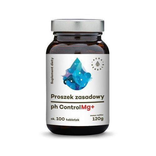 Proszek Proszek zasadowy pH Control Mg+ (100 tabl.) Aura Herbals