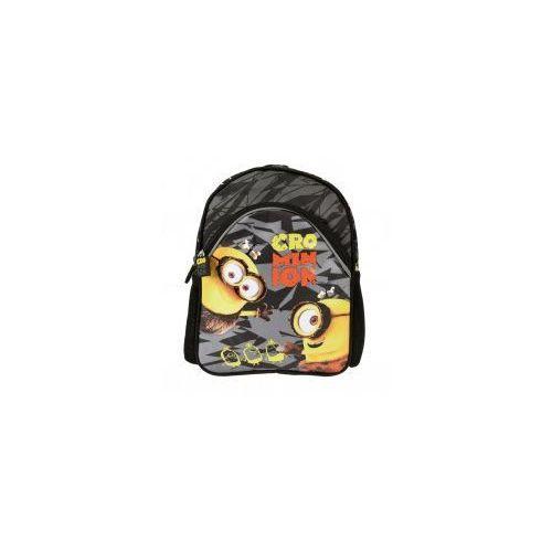 Majewski Plecaczek plecak dziecięcy minionki szary