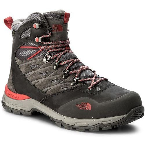 The north face Trekkingi - hedgehog trek gtx gore-tex t92ux2qdk dark gull grey/melon red