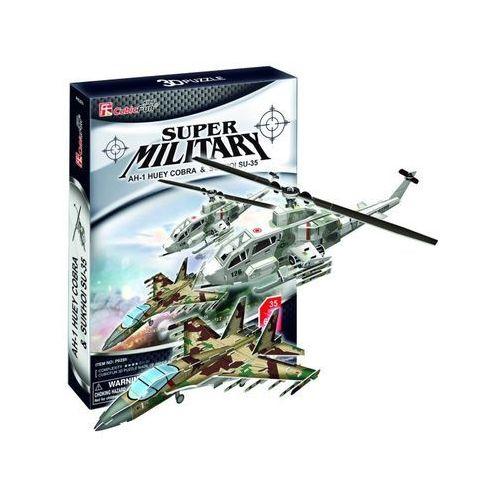 PUZZLE 3D AH-1 Huey Cobra & Sukhoi SU-35 (6944588206284)