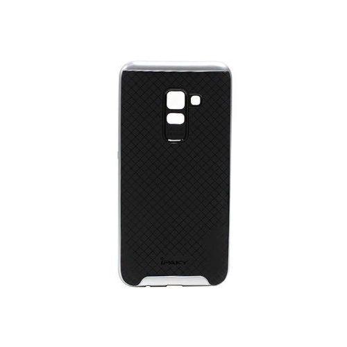 Samsung Galaxy A8 (2018) - etui na telefon Ipaky - Srebrny