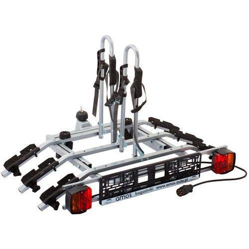 Platforma bagażnik na 3 rowery rowerowy na hak Tytan Amos