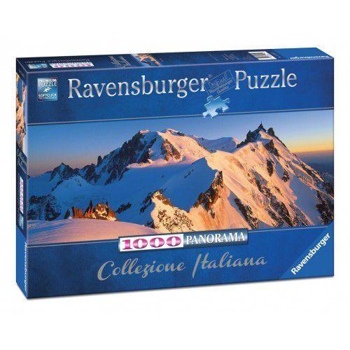 Ravensburger Puzzle 1000 elementów włoska kolekcja - monte bianco - darmowa dostawa od 199 zł!!! (4005556150809)