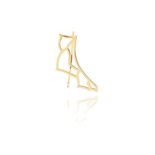 Klara kostrzewska Nausznica cytherea złota