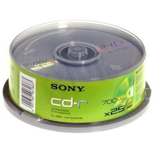 Płyty Sony CD-R Sony 700MB 48x - Cake - 25szt.