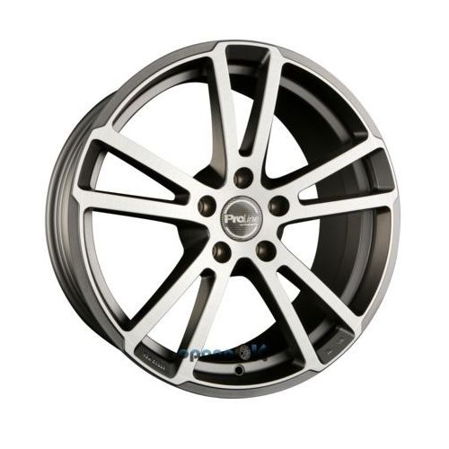 pxr gun metal brushed (gmb) einteilig 8.00 x 18 et 35 marki Proline wheels