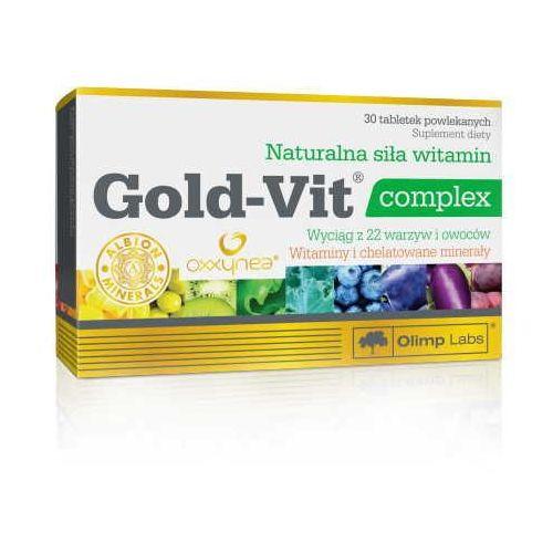 Tabletki OLIMP Gold-Vit complex x 30 tabletek data ważności 15.11.2017
