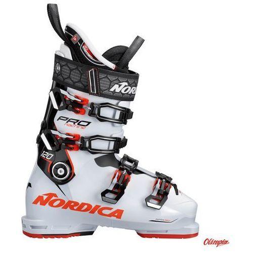 Buty narciarskie Nordica Pro Machine 120 White/Black/Red 2018/2019
