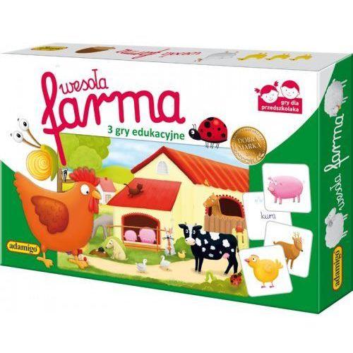 Gra edukacyjna wesoła farma marki Adamigo
