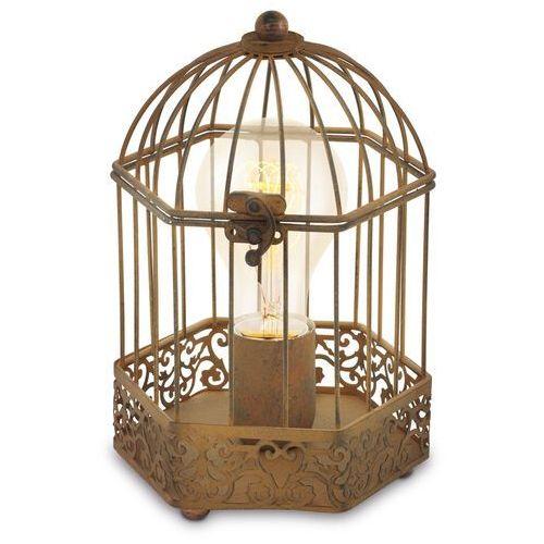 49287 - lampa stołowa vintage 1xe27/60w/230v marki Eglo