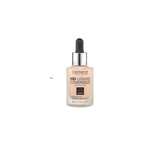 hd liquid coverage (w) podkład w płynie 010 light beige 30ml marki Catrice