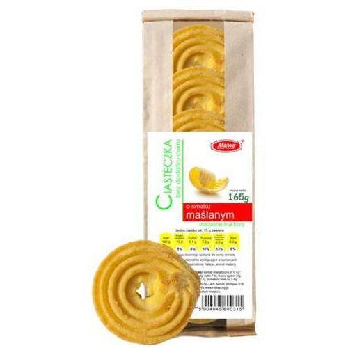 Ciasteczka o smaku maślanym bez dodatku cukru 165g marki Malwa