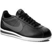 Buty NIKE - Classic Cortez Leather 749571 011 Black/Dark Grey/White, kolor czarny