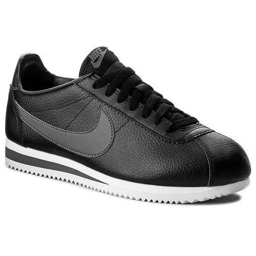 Buty - classic cortez leather 749571 011 black/dark grey/white, Nike, 41-47