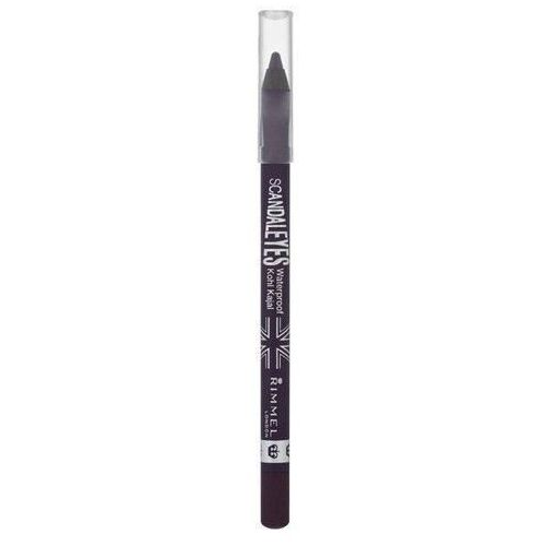 Rimmel scandaleyes scandaleyes wodoodporna kredka do oczu odcień 002 sparkling black 1,2 g (3607342350977)