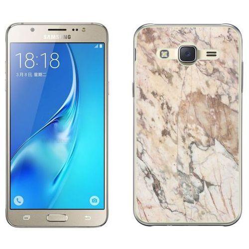 Samsung Galaxy J5 - etui na telefon - Kolekcja marmur - marble beż - H19, kolor beżowy