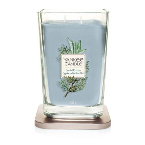 - świeca kwadratowa duża coastal cypress marki Yankee candle