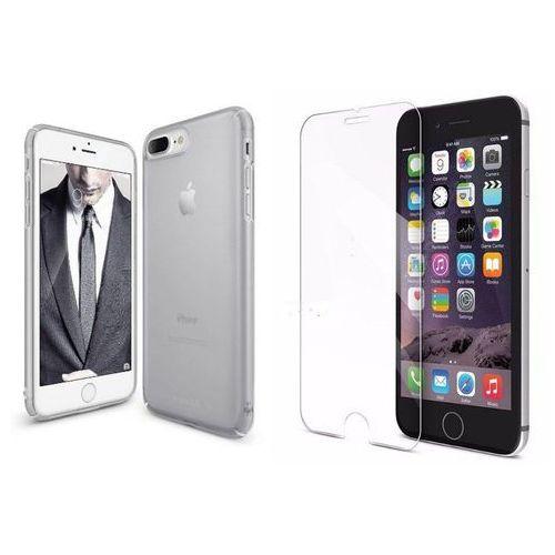 Zestaw | Rearth Ringke Slim Frost Gray | Obudowa + Szkło ochronne Perfect Glass dla modelu Apple iPhone 7 Plus