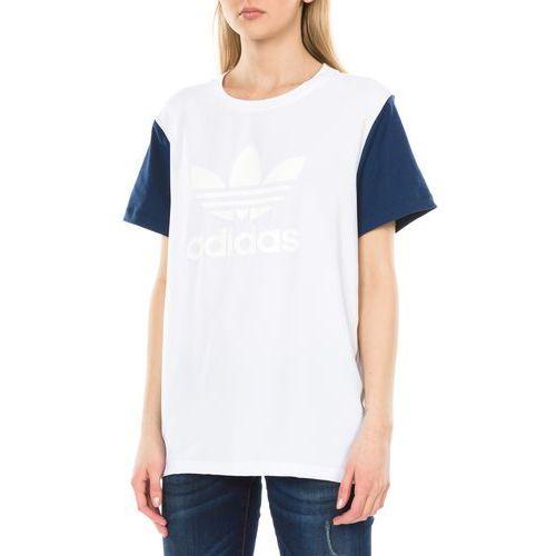 Adidas originals  boyfriend trefoil koszulka biały 38