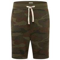 Jack & jones spodnie 'jjebasic sweat shorts sts' brązowy / zielony