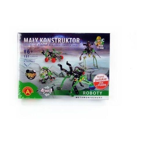 Mały konstruktor 4 w 1 Roboty (5906018016215)