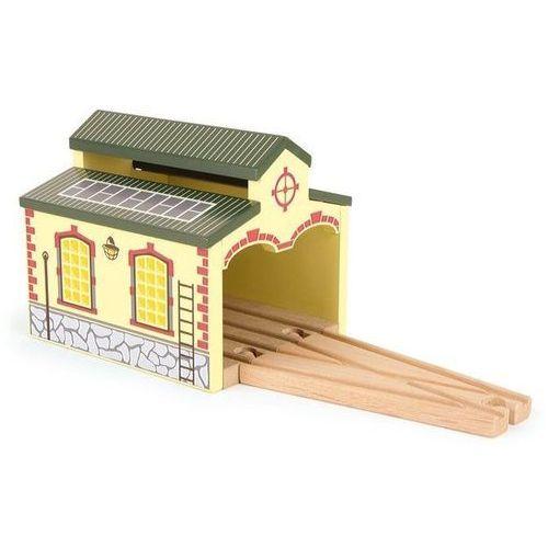 Small foot design Zajezdnia nostalgia - element do drewnianej kolejki dla dzieci
