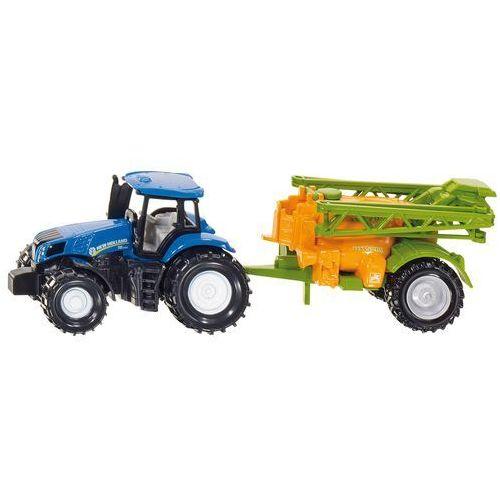 Siku , traktor ze spryskiwaczem upraw - trefl (4006874016686)