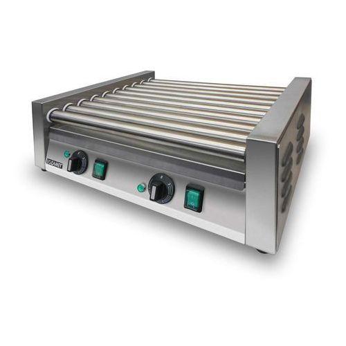Lozamet 16-rolkowy grill do parówek, 2-strefowy, rolki nierdzewne   , gr2a16n