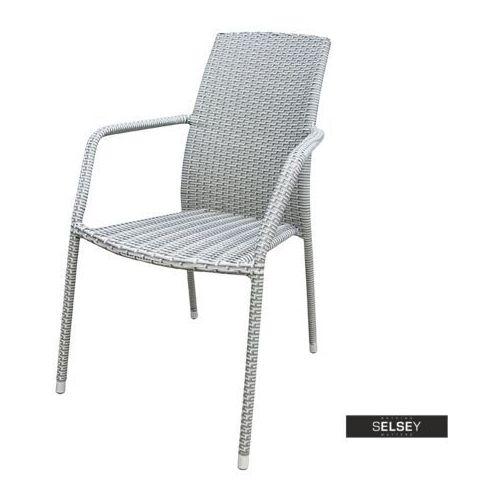 Selsey krzesło ogrodowe sokoto szare (5903025283913)