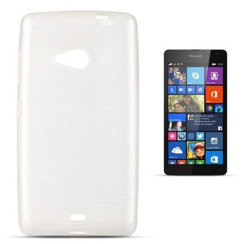 """Jelly Brush Microsoft Lumia 535"" (White) (5901737287564)"