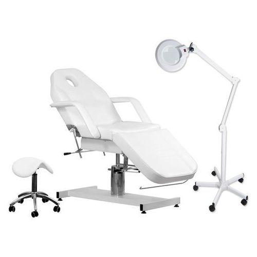 Zestaw fotel 210 + lampa lupa r6 + taboret 302 marki Activ