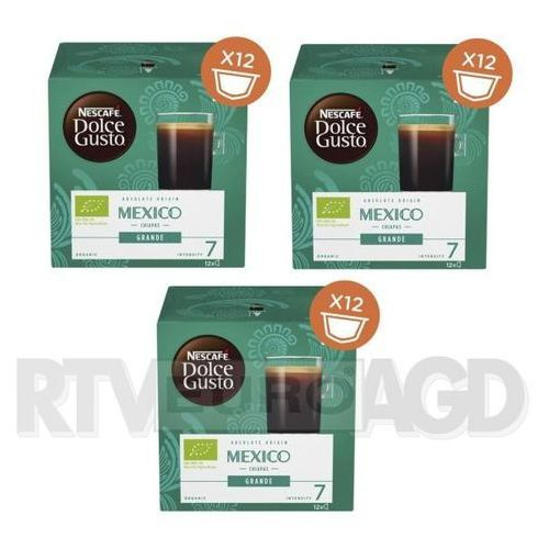 Nescafe Dolce Gusto Grande Mexico (3 opakowania), 3X1180037